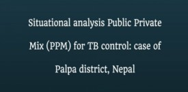 Situational analysis Public Private Mix (PPM) for TB control: case of Palpa district, Nepal